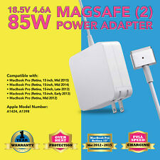 "85W AC Power Adapter Charger for Apple Macbook Pro Retina 15"" 2014 2015 2016"