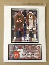 LEBRON JAMES & CARMELO ANTHONY ROOKIE CHALLENGE 12X16 MATTED PHOTO & EVENT COVER