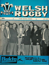 WELSH RUGBY MAG JUL 1975, RUSSIA BSC PORT TALBOT RFC, TAFF'S WELL, HAVERFORDWEST