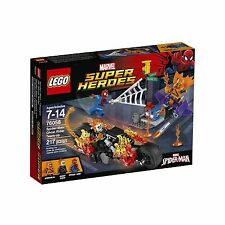 LEGO Super Heroes 76058 Spider-Man: Ghost Rider Team-up Buildin... Free Shipping