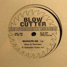BLOW • Cutter • Vinile 12 Mix • Hai Frequency Records