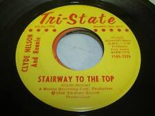 Rare Memphis Country NM! 45 CLYDE NELSON AND RONNIE Stairway To the Top on Tri -