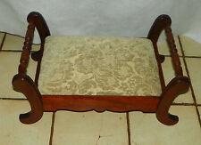Solid Walnut Footstool / Stool (St100)