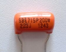 CONDENSATEUR SPRAGUE ORANGE 0.022uF - 200v - 5% -pour guitare
