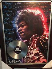 Jimi Hendrix - `Greatest of All Time`` multi-media print