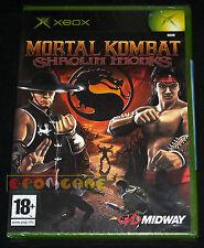 MORTAL KOMBAT SHAOLIN MONKS Xbox Versione Italiana ○○○○○ NUOVO SIGILLATO