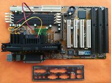 Scheda Madre Shuttle 661V31  e Cpu Intel Pentium 3 500 Mhz Slot 1 SL35E Slot Isa
