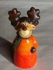 Süßer Keramik Elch Rentier Deko Hirsch Winterdeko Weihnachten Winter 11cm NEU