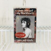 Pure and Simple Joan Jett & the Blackhearts Cassette 1994 NEW