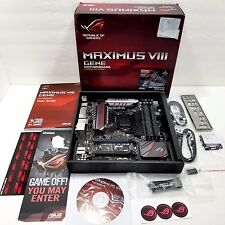 ASUS ROG MAXIMUS VIII GENE LGA 1151 DDR 4 Intel Z170 HDMI SATA 6Gb/s Motherboard