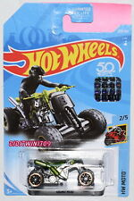 HOT WHEELS 2018 HW MOTO QUAD ROD GREEN FACTORY SEALED