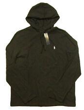 Polo Ralph Lauren Men's Black Heather Hooded T-Shirt