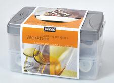 Pebeo Vitrea 160 Heat Fix Permanent Colour Glass Paint Workbox 10 x 45ml