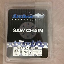 """16"""" Archer Chainsaw Chain 3/8"""" pitch FULL CHISEL .050 Gauge 60 DL drive links"""