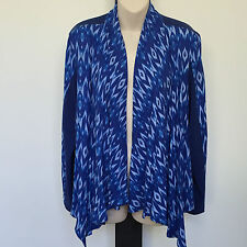 'AUTOGRAPH' BNWT SIZE '16' 2 TONED 3/4 SLEEVE WRAP DRAPE TOP WITH BACK TIE