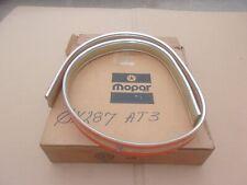 1981 1982 1983 Aries Reliant LeBaron NOS MoPar REAR BUMPER NERF STRIP MOLDING