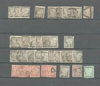 FRANCE : 37 timbres taxes avec multiples