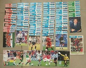 GROS LOT FICHES ONZE MONDIAL COLLECTION FOOTBALL FRANCE