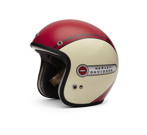 ARAI & HARLEY-DAVIDSON Classic Red Retro Tank 3/4 Helmet (Red) 98278-16JX F/S