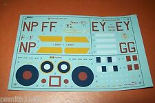 "AIRFIX  HP HALIFAX B.III  ""FRIDAY 13th ""  06013   1:72 scale decals"