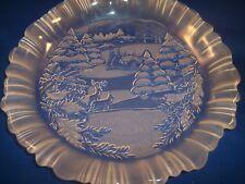 """Studio Nova Winter Scene 9"""" Collectible Plate"""