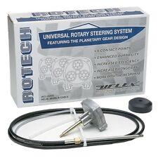 Yamaha Mercury Uflex Rotech Rotary Steering 16' Cable Helm Bezel Rotech16Fc Md