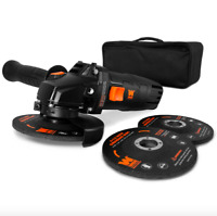 Wen Corded Electric 4.5 inch Angle Grinder Reversible Handle Grinding Discs Tool
