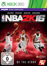 NBA 2K16 / 2016 für XBOX 360 | Basketball | NEUWARE | DEUTSCHE VERSION!