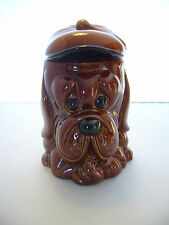 PRICE KENSINGTON VINTAGE COOKIE JAR - DOG DESIGN
