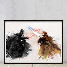 Star Wars, Alta Calidad A2 Cartel Impresora En Buen Arte Matt 250gsm Papel Fotográfico