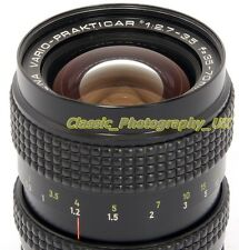 Carl ZEISS DDR VARIO-Prakticar 1:2.7-3.5 f=35-70mm MC Lens for Praktica PB + EOS