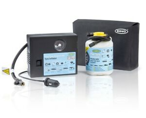 Ring ResQ Tyre Compressor & 450ml Sealant Kit Vauxhall Ford Volvo Honda Nissan