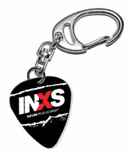 More details for inxs guitar plectrum keychain - f 1