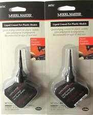 Testors® Model Master 1 oz Liquid Cement for Plastic Models TES 8872C [Two Pack]