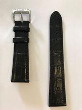 Original Citizen Men's Dress Black Leather 22mm Band Strap for Watch AO9000-06B
