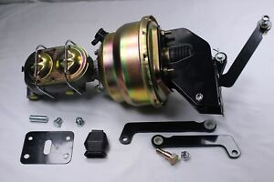 "NEW 1963-74 Mopar Dodge A B E Body 8"" Dual Power Brake Booster Conversion Kit"