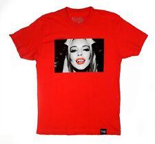 VAMPIRE LIFE Lindsay Lohan Graphic Tee By JIM JONES Red 100% Cotton T-Shirt