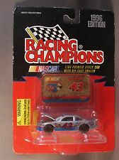 Bobby Hamilton Silver #43 Stp With Die Cast Emblem 1996 Racing Champions 1:64