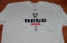 New Jersey Nets T-shirt 4XL Reebok NBA Cool Logo