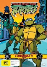 Teenage Mutant Ninja Turtles Season 4 Box 2 Vol 4-6 (DVD, 2007, 3-Disc Set)Reg4