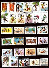 NICARAGUA 29 timbres oblitérés Tous les sports  147T5
