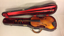 Antique Unmarked Violin and Hard Case House of Primavera