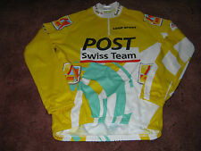 POST SWISS TEAM CEIGI ITALIAN L/S CYCLING JERSEY [56/7/3XL]