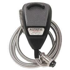 ASTATIC 636L-SE Silver Edition CB  Ham Radio Microphone 4-pin mic Metal Cord