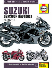 Haynes Manual 4184 - Suzuki GSX1300R Hayabusa (99 - 13) workshop/service/repair