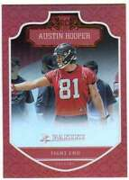 2016 Panini Football RC Shining Armor Rainbow Foil #260 Austin Hooper Falcons