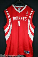 Neuw reebok houston rockets yao ming talla XL SZ 48 camiseta baloncesto nba Jersey
