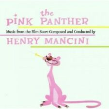 HENRY  MANCINI & HIS ORCHESTRA - THE PINK PANTHER  CD 16 TRACKS SOUNDTRACK NEU