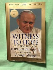 Witness to Hope: The Biography of Pope John Paul II by George Weigel .Paperback