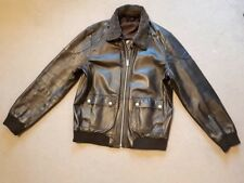 Burton men leather jacket L